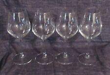 PAKSH Novelty Italian Clear Wine Glasses Set of 4 15 oz NIB