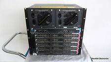 Cisco Catalyst 4506 Switch WSC4506 with 5 WS-X4548-GB-RJ45 boards