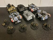 Warhammer 40k Chimera Tank army hellhound heavy weapon teams astra militarum