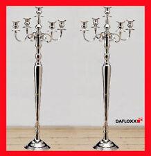 Mehrarmige Deko-Kerzenleuchter aus Metall