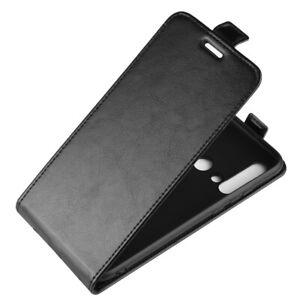For Huawei P40 Pro + P40 Lite E P20 Pro P30 Lite Up down Flip PU Leather Case