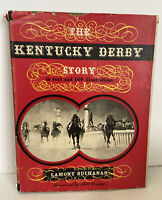 The Kentucky Derby Story by Lamont Buchanan 1953 First Edition Horse Racing Book