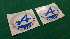 Renault Alpine GT GTA V6 Turbo Badge Decal Sticker Graphics Restoration decor