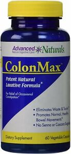 Advanced Naturals Colonmax Caps, Blue and White 60 Count