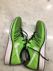 Nike Flyknit Trainers - Electric Green US Size 5 AUS SELLER!!!