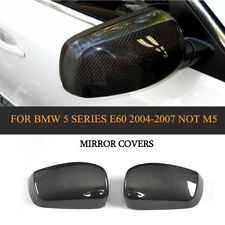 E60 Mirror Covers Carbon Fiber Refit Fit For BMW 5 Series E60 Sedan 04-07 Not M5