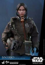 """Star Wars Rogue One Jyn Erso Deluxe 1/6th Scale Hot Toys 12"""" Figure"""