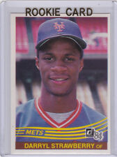 DARRYL STRAWBERRY ROOKIE CARD 1984 Donruss VINTAGE BASEBALL RC New York Mets!