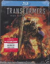 Transformers Age of Extinction Future Shop (2 Blu-ray + 1 DVD) Steelbook SEALED