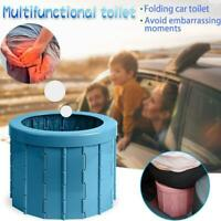 Portable Travel Toilet Folding Commode Toilet Seat For Camping Hiking Long Trip