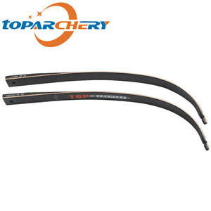 1 Pair TOPARCHERY Takedown Recurve Bow Limbs Replacement Right Hand 30lbs-50lbs