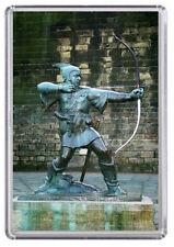 Nottingham Robin Hood Statue Fridge Magnet