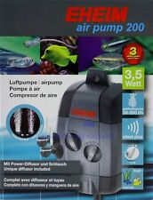 Eheim Air Pump 200 membrane pompe réglables 3702010 pompe à air 50-200 L/H