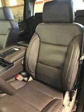 2016-2017 Chevrolet Silverado Crew Cab Katzkin Cocoa Dune Leather Seat Kit Java