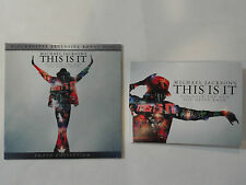 SET - MICHAEL JACKSON'S THIS IS IT - PHOTO CD - PRE-ORDER CARD RARE BLOCKBUSTER