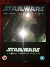 Star Wars The Prequel Trilogy eps 1-2-3 Limited Edition Steelbook Blu-ray