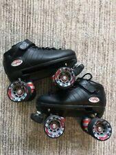 Riedell R3 Cayman Roller Skates Radar Wheels Size 4