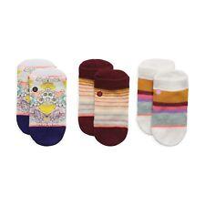 STANCE Jiggy Box Set I Baby 3 Pair Tab Height Socks sz 3-6 Months