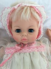 "Vintage Unmarked Thumbelina BABY DOLL 19"" Canadian ? So SWEET!"