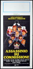 CINEMA-locandina ASSASSINIO SU COMMISSIONE ch. plummer, mason, sutherland, CLARK