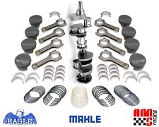 """FORGED ROTATING ASSEMBLY CHEVY 383 6.000"""" RODS MAHLE FLAT TOP PISTONS BALANCED"""