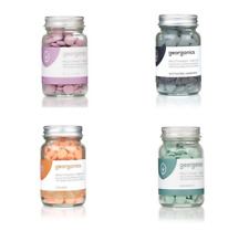 Georganics 180 Eco-Friendly, Organic, Natural Mouthwash Tablets Various Flavours
