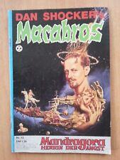 DAN SHOCKER'S MACABROS - NR. 013 Mandragora - Herrin der Angst  erstausgabe 1974