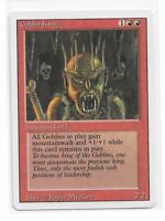Magic The Gathering ~ 1x Goblin King ~ REVISED ~ M/NM