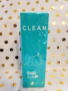 CLEAN Fusion Rain & Pear  5.9 Oz 175 ml Eau Fraiche Body Spray For Women
