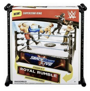 WWE Superstar Ring Smackdown & Royal Rumble 2 Events In 1
