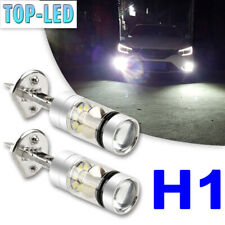 H1 100W High Power LED Fog Driving Lights Bulbs Headlight Kit Bright White 6000K