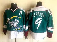 VTG 1995 Paul Kariya Mighty Ducks of Anaheim Jade Wild Wing Men's Jersey