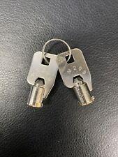 Seaga Vending Machine Keys Sm 209 Barrel Key Set Of 2