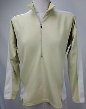 Patagonia Womens Half Zip Top Size Medium M Green Base Layer Pullover Running