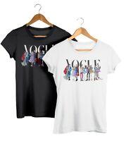 Disney Couples Fashion T-Shirt Prince & Princess T Shirts