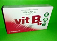 Vitamin B6 1,4 MG 48 Tablets Release Delayed SORIA NATURAL