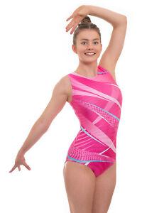 Deluxe Esprit Gymnastics Leotard for Girls Kids ideal for Competition Dance Gym