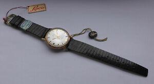 Herren ⌚ LACO Electric mit Krone am Boden 35mm Vintage 60er NOS Uhr ungetragen