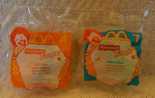 McDonald's Happy Meal Toys-1996 Nickelodeon Tangle-#4 & #7 Twist-a-Zoid Figurine