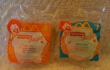 McDonald's Happy Meal Toys-1996 Nickelodeon Tangle-#4 & #7 Twist-a-Zoid Figurine