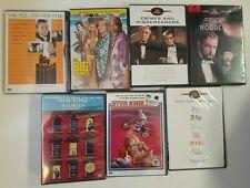 7 dvds Woody Allen. Ellmore Leonard. Michael Crichton, Sean Connery VIVA KNIEVEL