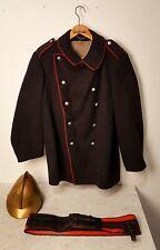 Uniform Kupfer Helm Bayern antik 1850 - 1900 Feuerwehr Germany Fire Department