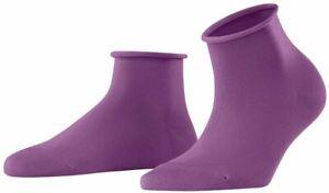 Falke Womens Cotton Touch Short Socks - Galaxy Purple