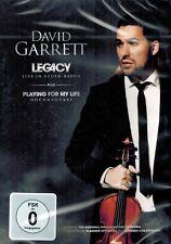 DVD NEU/OVP - David Garrett - Legacy - Live in Baden-Baden