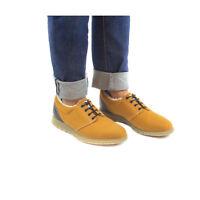 Zapato vegano de hombre, cálido y suave microfibra ecológica tipo gamuza y forro