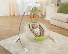 FISHER PRICE DELUXE CRADLE SWING Plug In/Batteries Infant Baby Sleep Nap Play