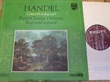 Sal 3707 Handel conciertos un debido Cori/Leppard P/S