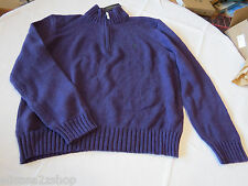 Polo Ralph Lauren sweater pull over shirt small 0186181 classics05 Men's purple