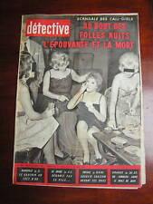 Détective 1961 SPAY AVRANCHES LEDEBERG BUCHELAY CAMARET