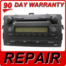 REPAIR SERVICE ONLY Toyota Corolla JBL Radio 6 Disc Changer CD Player OEM FIX
